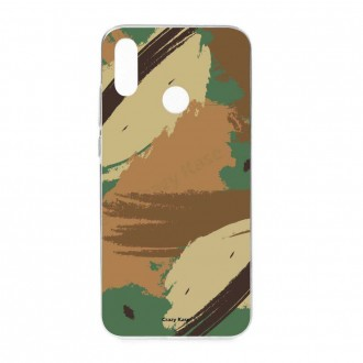 Coque Huawei P Smart 2019 souple motif Camouflage - Crazy Kase