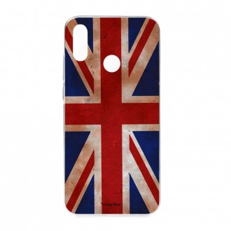 Coque Huawei P Smart 2019 souple motif Drapeau UK vintage - Crazy Kase