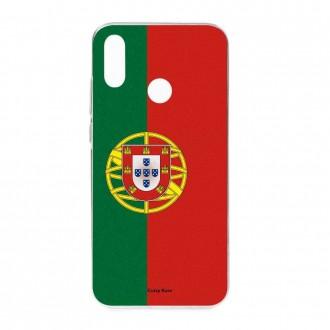 Coque Huawei P Smart 2019 souple motif Drapeau Portugais - Crazy Kase