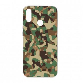 Coque Huawei P Smart 2019 souple motif Camouflage militaire - Crazy Kase