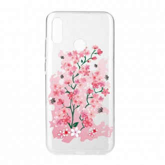 Coque Huawei P Smart 2019 souple motif Fleurs de Cerisier - Crazy Kase