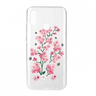 Coque Huawei P Smart 2019 souple motif Fleurs de Sakura - Crazy Kase