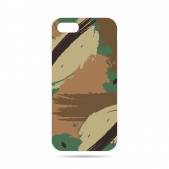 Coque iPhone 7 souple motif Camouflage - Crazy Kase