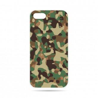 Coque iPhone 7 souple motif Camouflage militaire - Crazy Kase