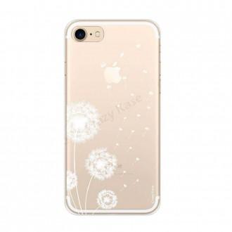 Coque iPhone 7 souple Fleurs de pissenlit - Crazy Kase