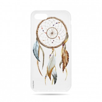 Coque iPhone 8 souple motif Attrape Rêves Nature - Crazy Kase