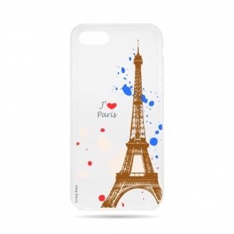 Coque  iPhone 7 / 8 souple Paris -  Crazy Kase
