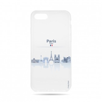 Coque  iPhone 7 / 8 souple Monuments de Paris -  Crazy Kase