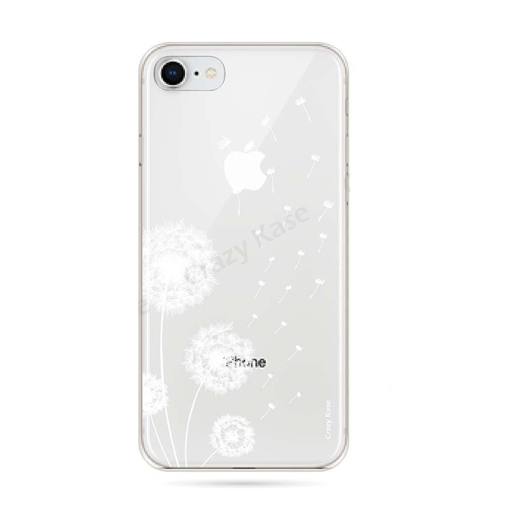 coque iphone 8 fleur de pissenlit crazy kase