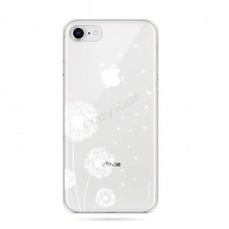 Coque iPhone 8 souple Fleurs de pissenlit - Crazy Kase