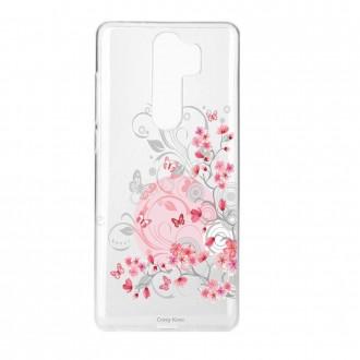 Coque Xiaomi Redmi Note 8 Pro souple Fleurs et papillons - Crazy Kase
