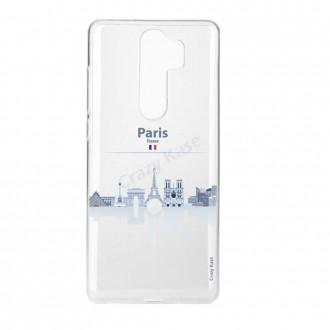 Coque Xiaomi Redmi Note 8 Pro souple Monuments de Paris - Crazy Kase