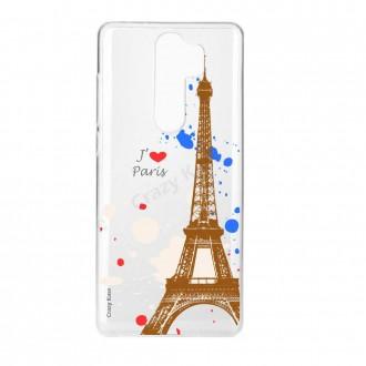 Coque Xiaomi Redmi Note 8 Pro souple Paris - Crazy Kase