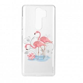 Coque Xiaomi Redmi Note 8 Pro souple Flamant rose - Crazy Kase