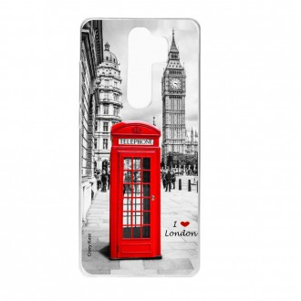 Coque Xiaomi Redmi Note 8 Pro souple Londres - Crazy Kase