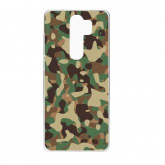 Coque Xiaomi Redmi Note 8 Pro souple camouflage militaire - Crazy Kase