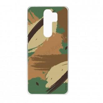 Coque Xiaomi Redmi Note 8 Pro souple Camouflage - Crazy Kase