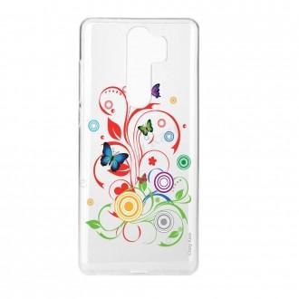 Coque Xiaomi Redmi Note 8 Pro souple Papillons et Cercles - Crazy Kase