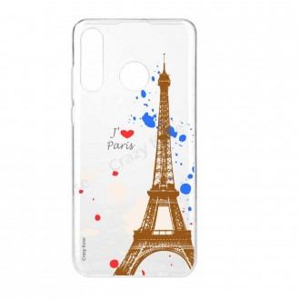 Coque Galaxy A40 souple Paris -  Crazy Kase