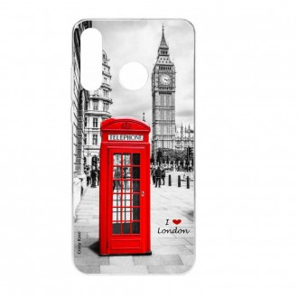 Coque Galaxy A40 souple Londres -  Crazy Kase