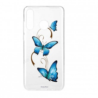 Coque Galaxy A40 souple motif Papillon sur Arabesque - Crazy Kase