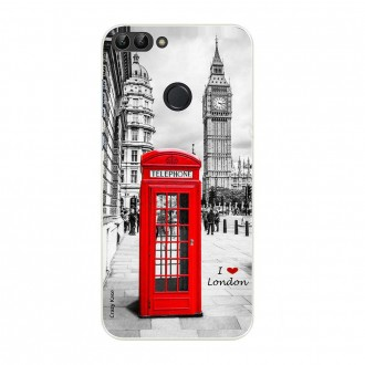 Coque Huawei P Smart souple motif Londres -  Crazy Kase