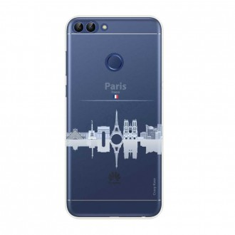 Coque Huawei P Smart souple Monuments de Paris - Crazy Kase