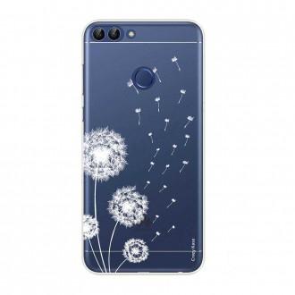 Coque Huawei P Smart souple Fleurs de pissenlit - Crazy Kase