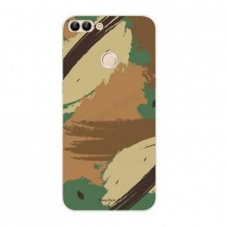 Coque Huawei P Smart souple motif Camouflage - Crazy Kase