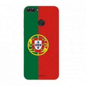 Coque Huawei P Smart souple motif Drapeau Portugais - Crazy Kase