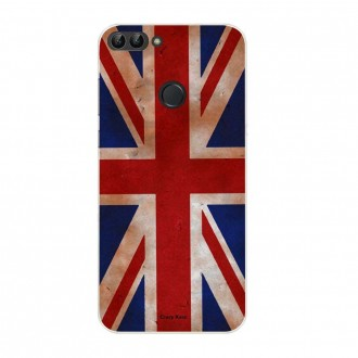 Coque Huawei P Smart souple motif Drapeau UK vintage - Crazy Kase