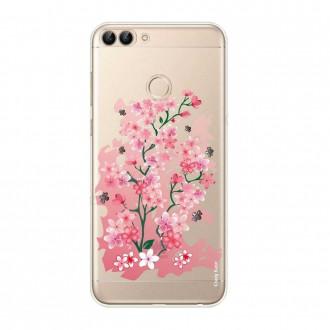 Coque Huawei P Smart 2018 souple motif Fleurs de Cerisier - Crazy Kase