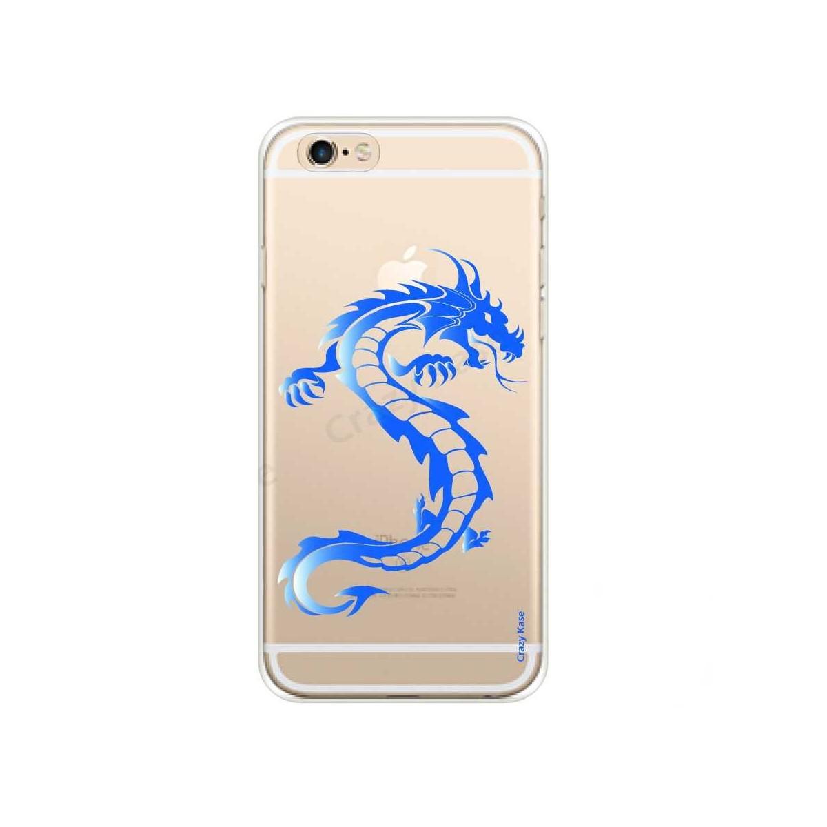 Coque souple motif Dragon bleu pour iPhone 6 Plus,iPhone 6s Plus - Crazy Kase