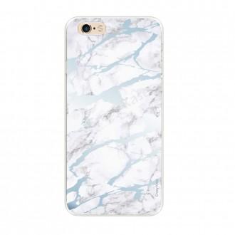 Coque iPhone 6 / 6s souple effet Marbre bleu - Crazy Kase