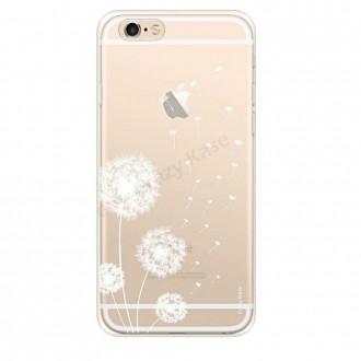 Coque iPhone 6 / 6s souple Fleurs de pissenlit - Crazy Kase