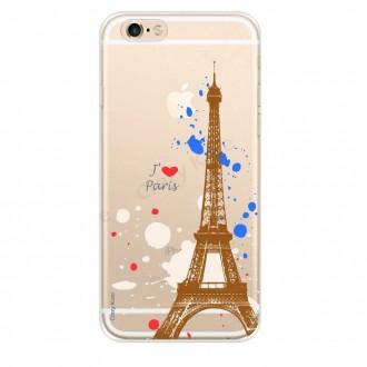 Coque compatible iPhone 6 Plus / 6s Plus souple Paris -  Crazy Kase
