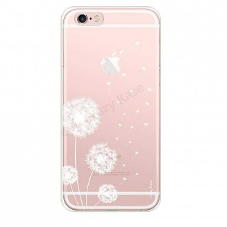 Coque iPhone 6 Plus / 6s Plus souple Fleurs de pissenlit - Crazy Kase
