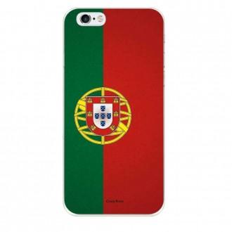 Coque iPhone 6 Plus / 6s Plus souple motif Drapeau Portugais - Crazy Kase