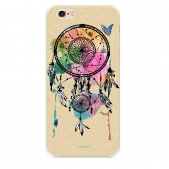 Coque iPhone 6 Plus / 6s Plus souple motif Attrape rêve et papillon - Crazy Kase