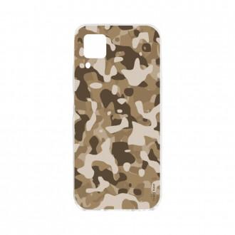 Coque pour Huawei P40 Lite souple Camouflage militaire du désert Crazy Kase