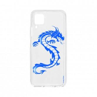 Coque pour Huawei P40 Lite souple Dragon bleu Crazy Kase