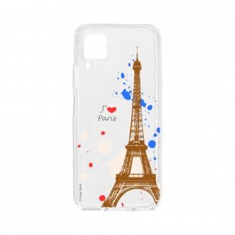 Coque pour Huawei P40 Lite souple Paris Crazy Kase