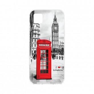 Coque pour Huawei P40 Lite souple Londres Crazy Kase