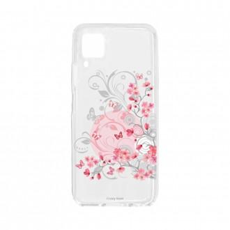 Coque pour Huawei P40 Lite souple Fleurs et papillons Crazy Kase