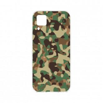 Coque pour Huawei P40 Lite souple Camouflage militaire Crazy Kase
