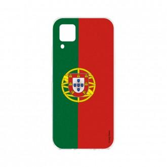 Coque pour Huawei P40 Lite souple Drapeau Portugais Crazy Kase