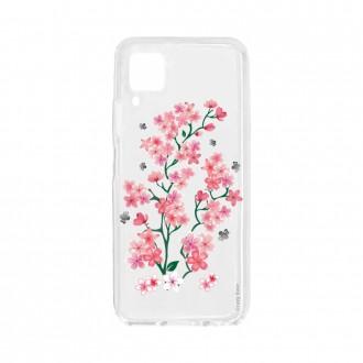 Coque pour Huawei P40 Lite souple Fleurs de Sakura Crazy Kase