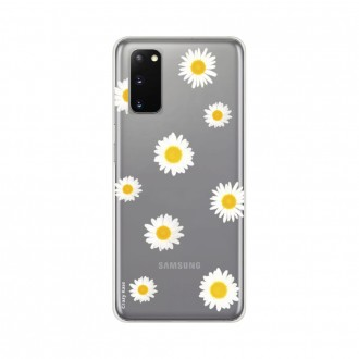 Coque pour Samsung Galaxy S20 souple Marguerite Crazy Kase