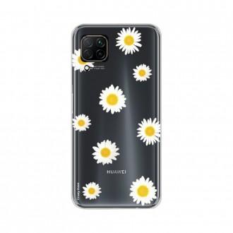 Coque pour Huawei P40 Lite souple Marguerite Crazy Kase