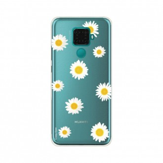 Coque Huawei Mate 30 Lite souple Marguerite Crazy Kase